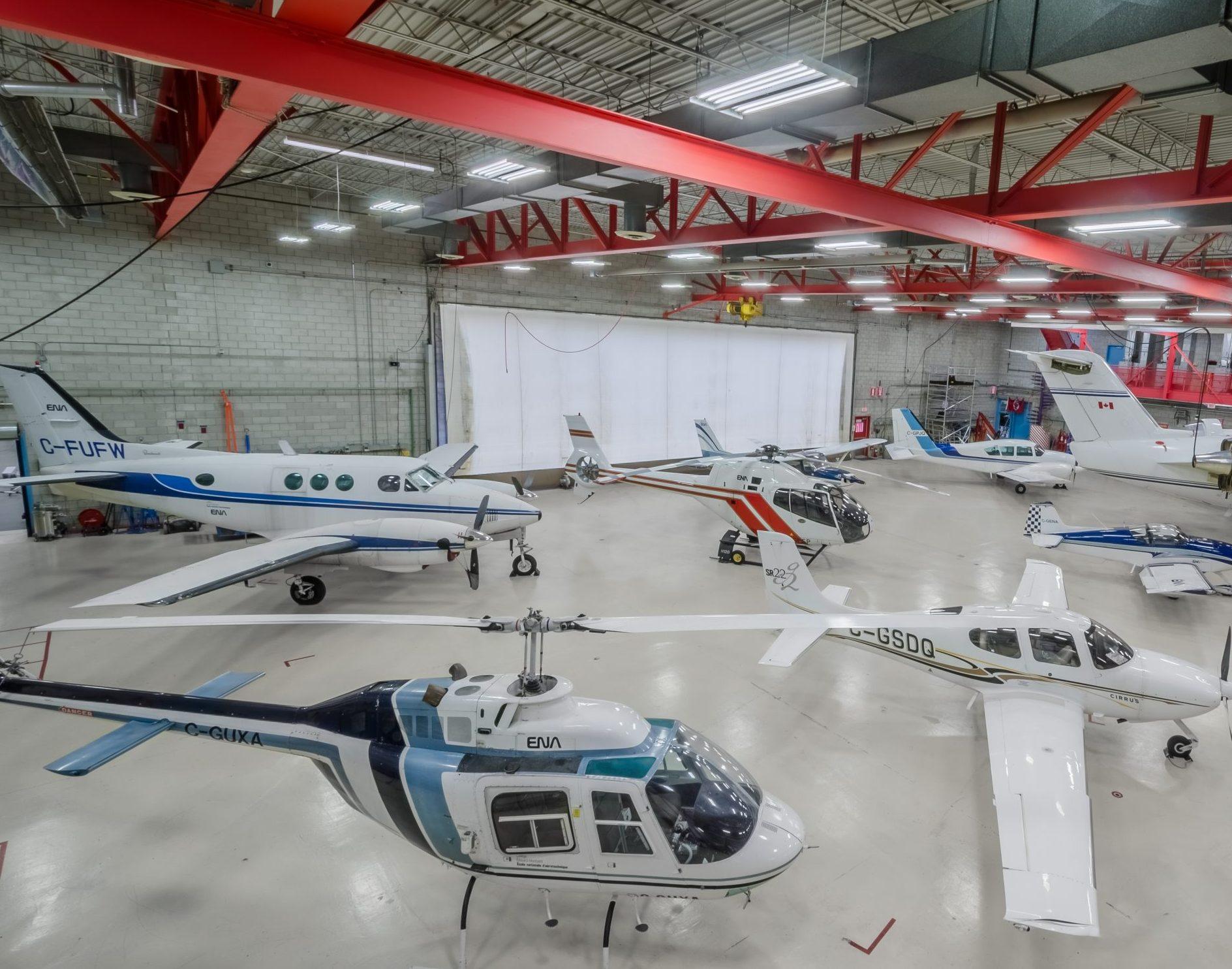 Hangar École nationale d'aérotechnique